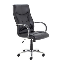 Whist Chair - Black Leather