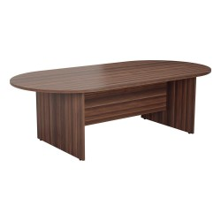 1800mm D-End Meeting Table